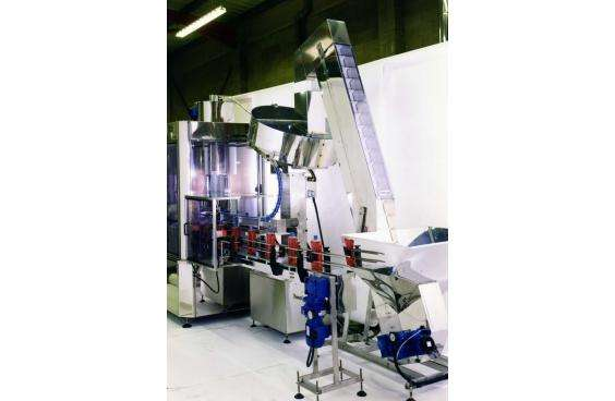 rotary capper machine