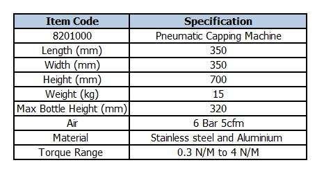 pneumatic-capping-machine