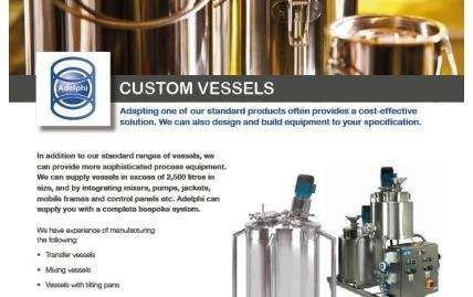 Custom Vessels