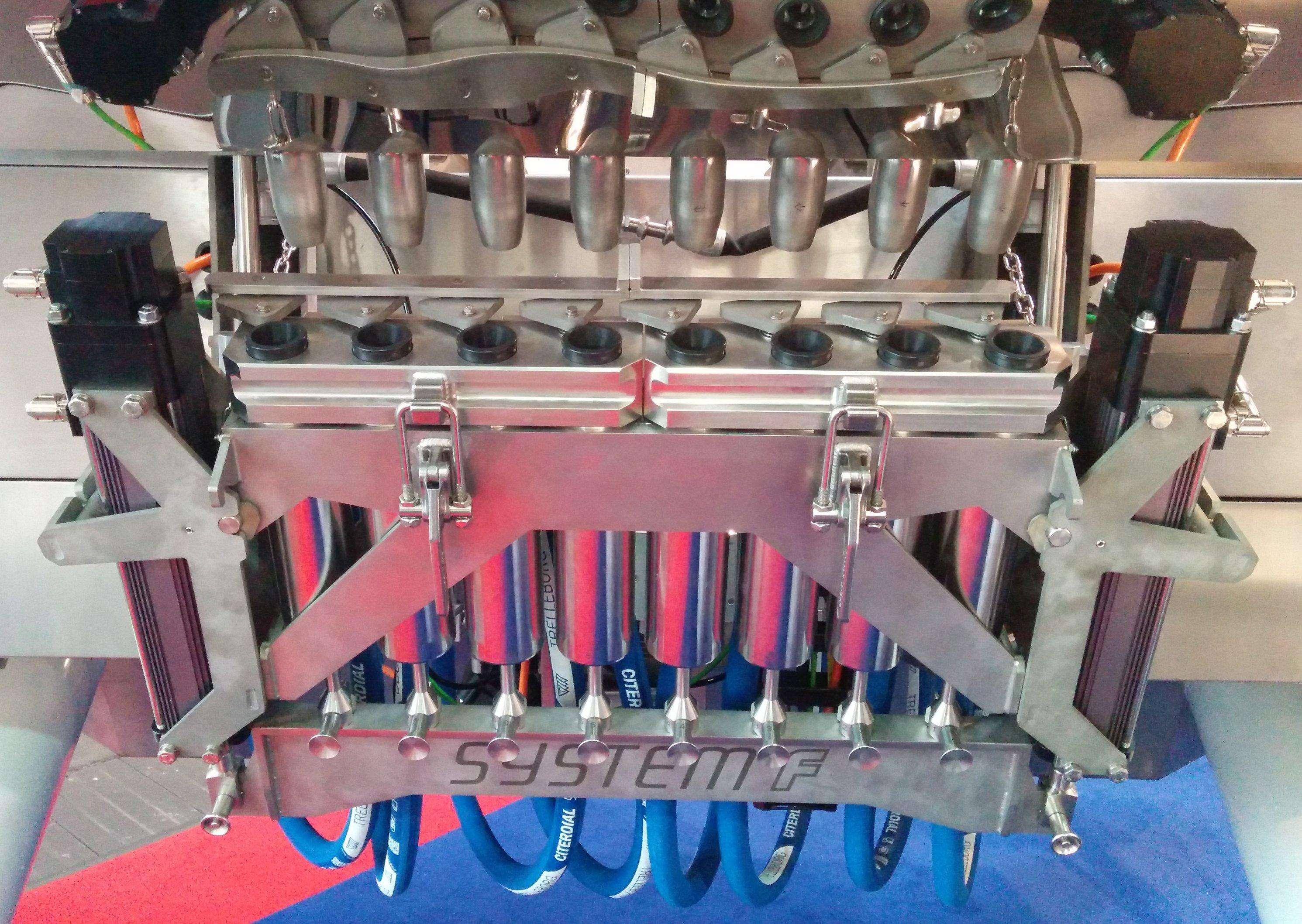 System F volumetric pumping module