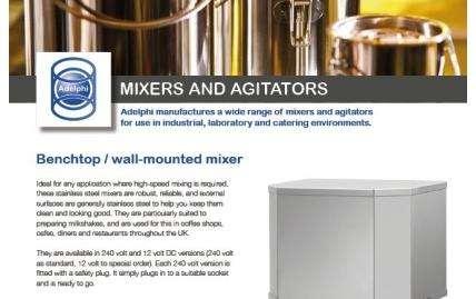 Mixers & Agitators