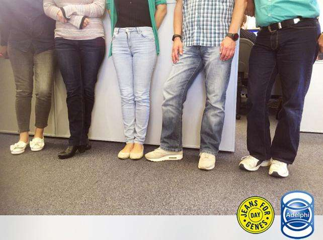 Supporting Jeans for Genes Day