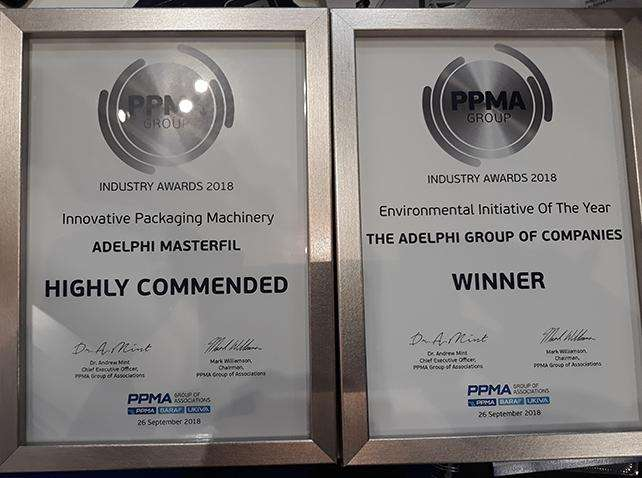Adelphi WIN prestigious industry awards