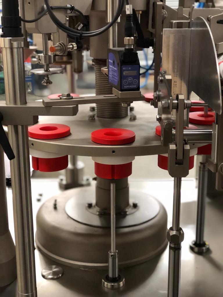 TGM E250Matic automatic tube filling and sealing machine