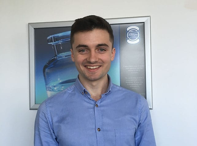 Welcome Ben, our new Mechanical Design Engineer