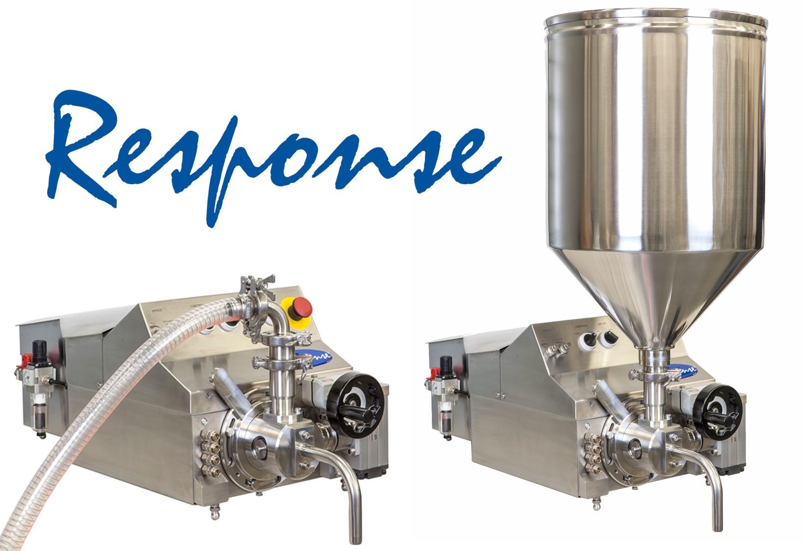 Response benchtop volumetric filling machine
