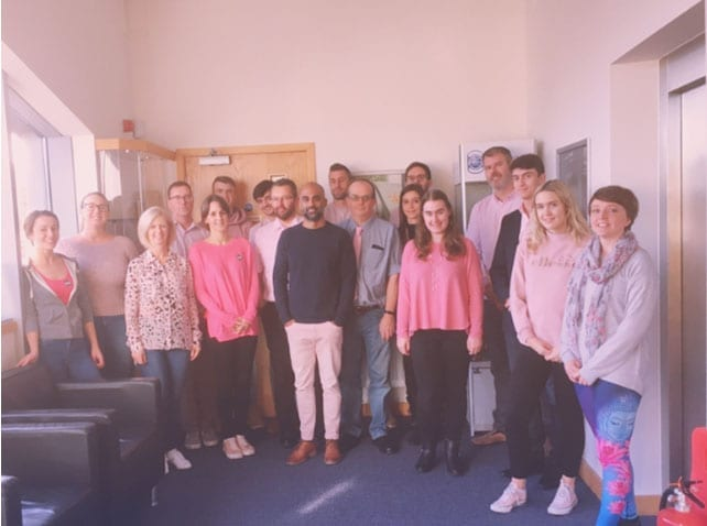 Adelphi staff support Breast Cancer charity day