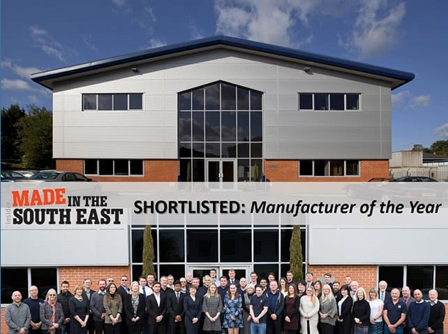 Adelphi shortlisted TWICE at Made in the South East Awards 2019