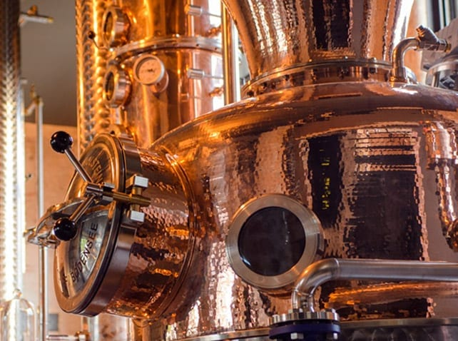 Filling solutions for distilleries manufacturing hand sanitizers