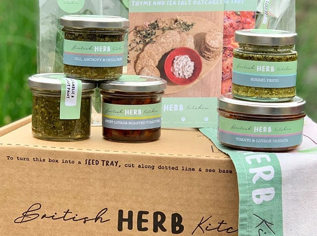 Artisan filling; a recommendation from British Herb Kitchen