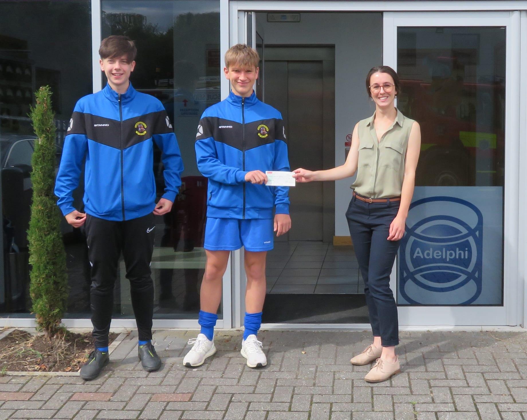 Adelphi sponsor Haywards Heath Town Youth FC